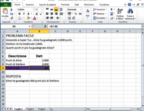 Problema con Excel