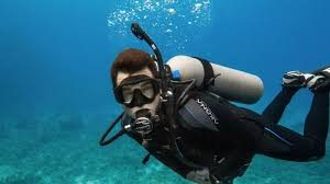 Bombole d'ossigeno per i sub